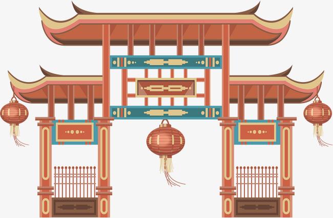 古代建筑矢量图素材图片免费下载 高清psd 千库网 图片编号8720232