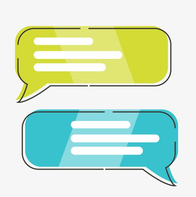 矢量图手绘meb扁平化对话框