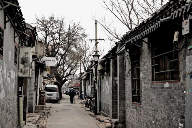 老北京胡同图片