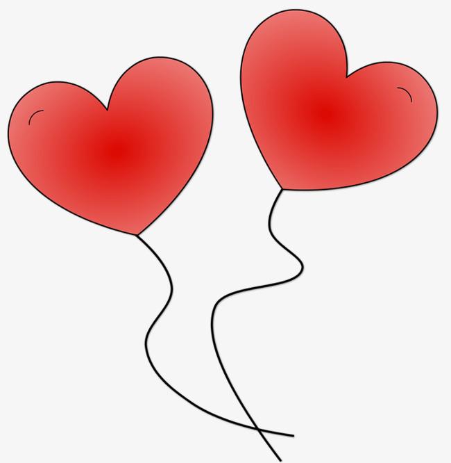 图片 气球psd > 【png】 爱心气球  分类:手绘动漫 类目:其他 格式