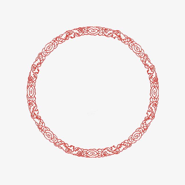 90设计提供高清png产品实物素材免费下载,本次红色古风古典圆圈作品为