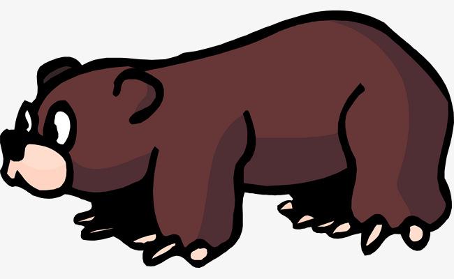 卡通狗熊简笔画_图片 > 【png】 棕色狗熊  分类:手绘动漫 类目:其他 格式:png 体积