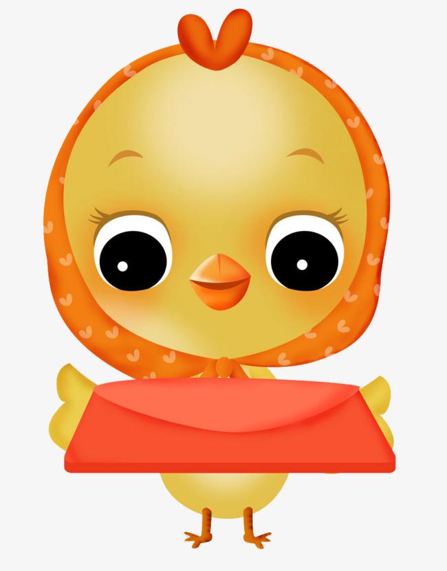 可爱的小黄鸡