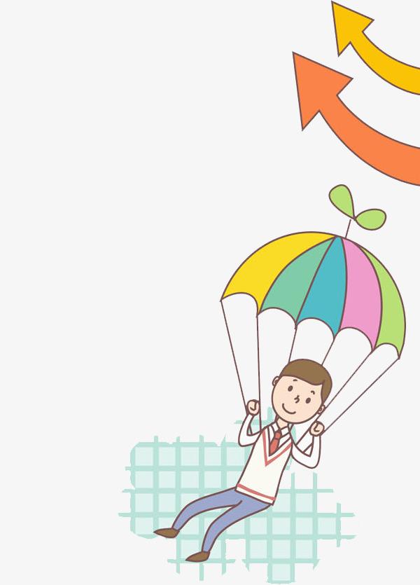 图片 > 【png】 降落伞男孩  分类:手绘动漫 类目:其他 格式:png 体积