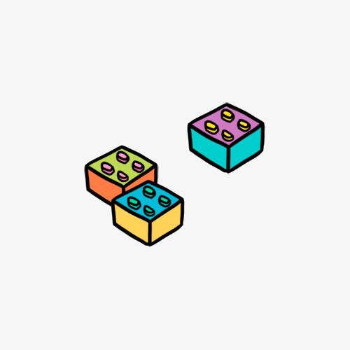 手绘方块_png素材免费下载_ 500*500像素(编号:)_90