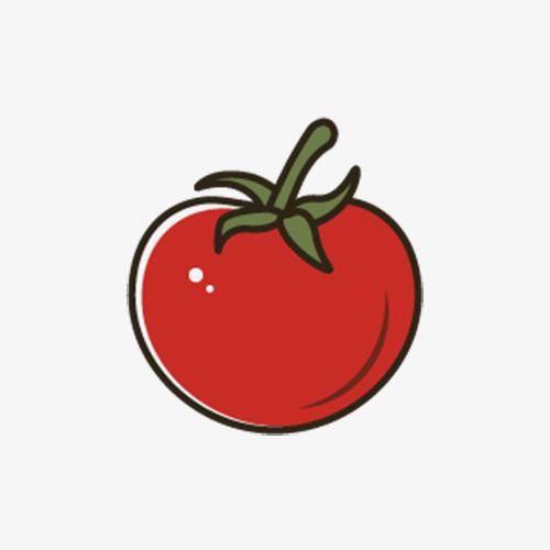图片 > 【png】 手绘西红柿  分类:手绘动漫 类目:其他 格式:png 体积