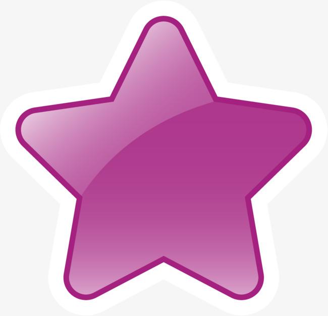 手绘紫色星星_png素材免费下载_ 1001*963像素(编号:)