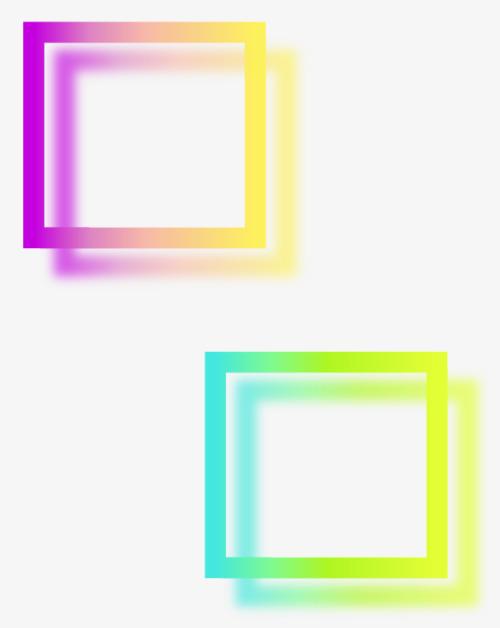 手绘正方形