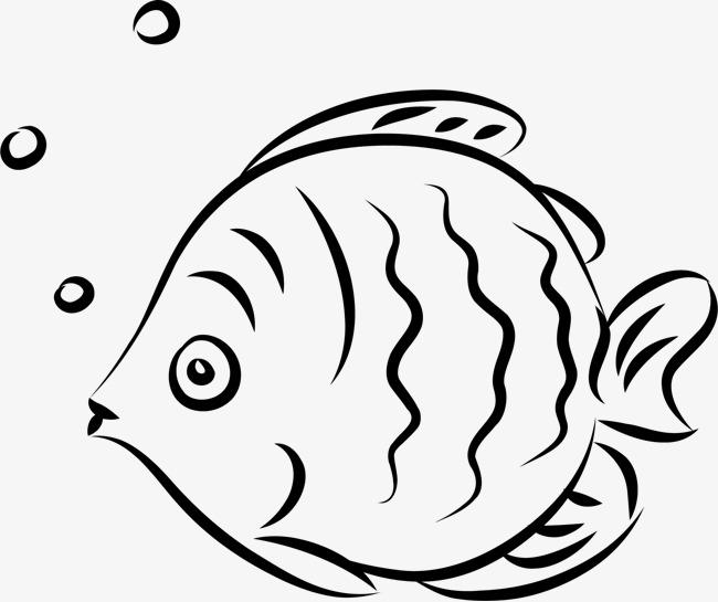 手绘小鱼素材图片免费下载 高清png 千库网 图片编号8814877
