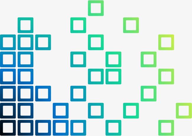 手绘多彩方块_png素材免费下载_ 1801*1280像素(编号