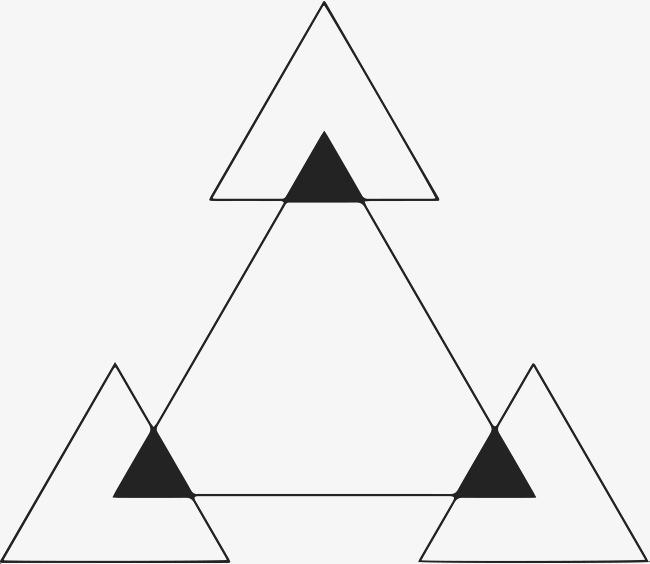 手绘三角形