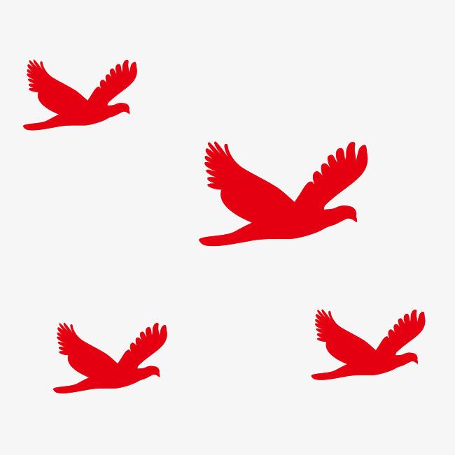 红色的飞鹤