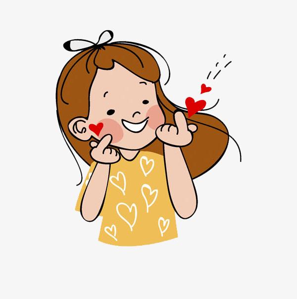比心女孩_png素材免费下载_ 600*604像素(编号:)_90