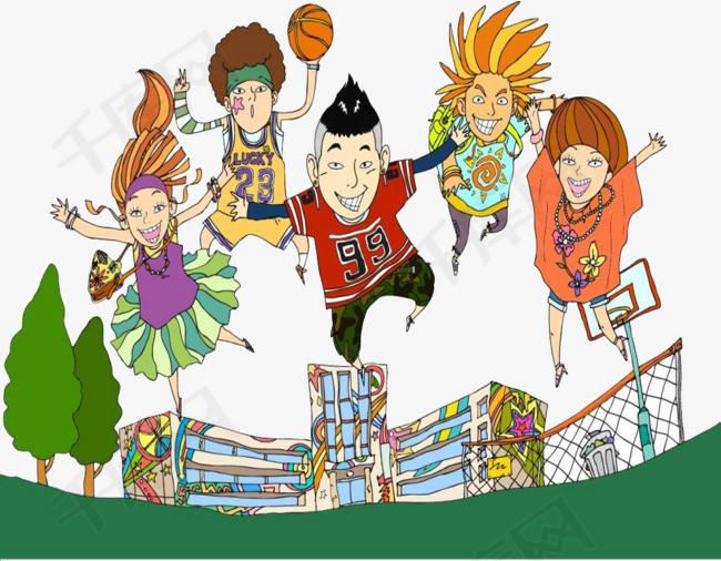 球迷跳跃欢呼素材图片免费下载 高清png 千库网 图片编号8855981