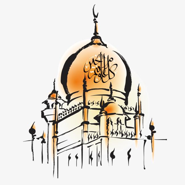 手绘清真寺