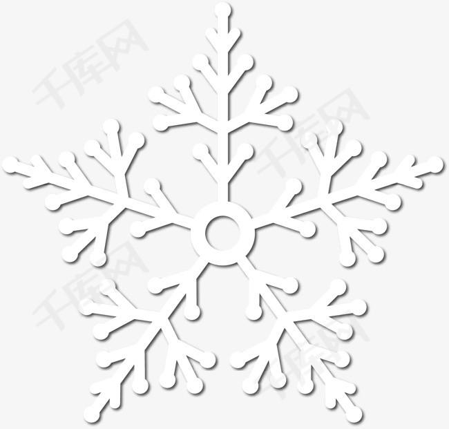雪花素材图片免费下载_高清装饰图案psd_千库网(图片