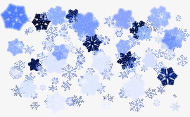 手绘蓝色花朵_png素材免费下载_ 2792*1630像素(编号