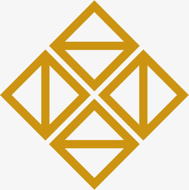 三角形 手绘三角形 正方形 线条 手绘线条 几何形状 几何图形免扣素材