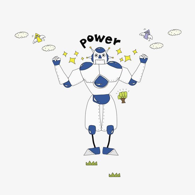 圖片 > 【png】 白色機器人  分類:手繪動漫 類目:其他 格式:png 體積