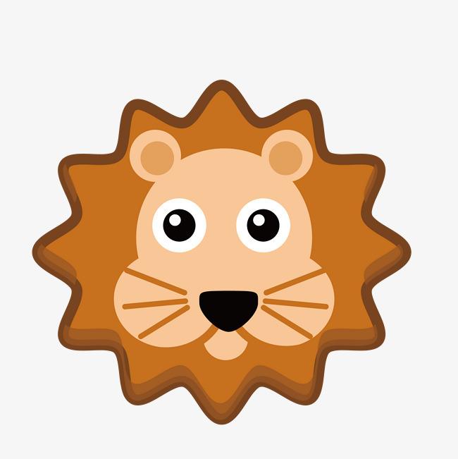 狮子 狮子头像 卡通头像 插图 手绘图 图示免扣素材