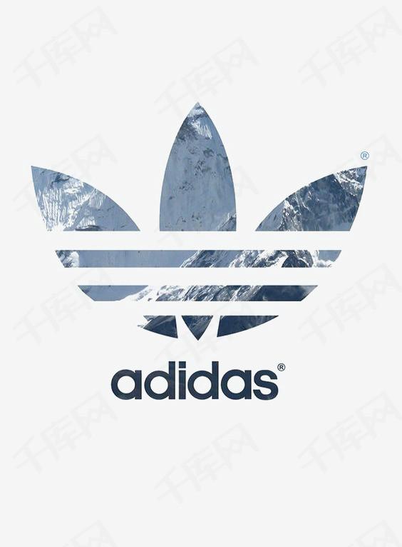 三叶草图标创意三叶草adidas运动品牌运动logo潮牌三叶草免扣png