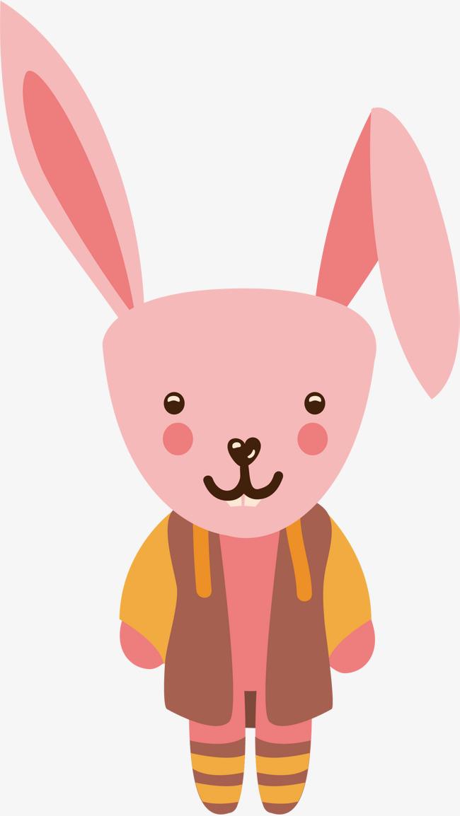 粉色可爱小兔子