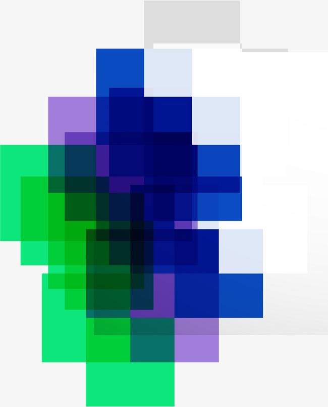 手绘多彩方块_png素材免费下载_ 2000*2474像素(编号