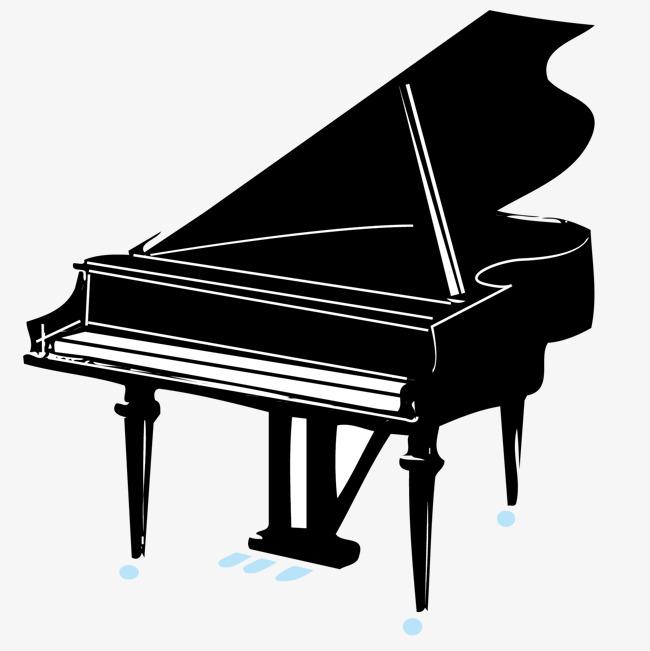音乐元素 钢琴 黑色素材图片免费下载 高清装饰图案psd 千库网 图片编