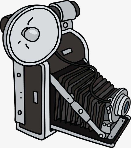 粗线条相机简笔画