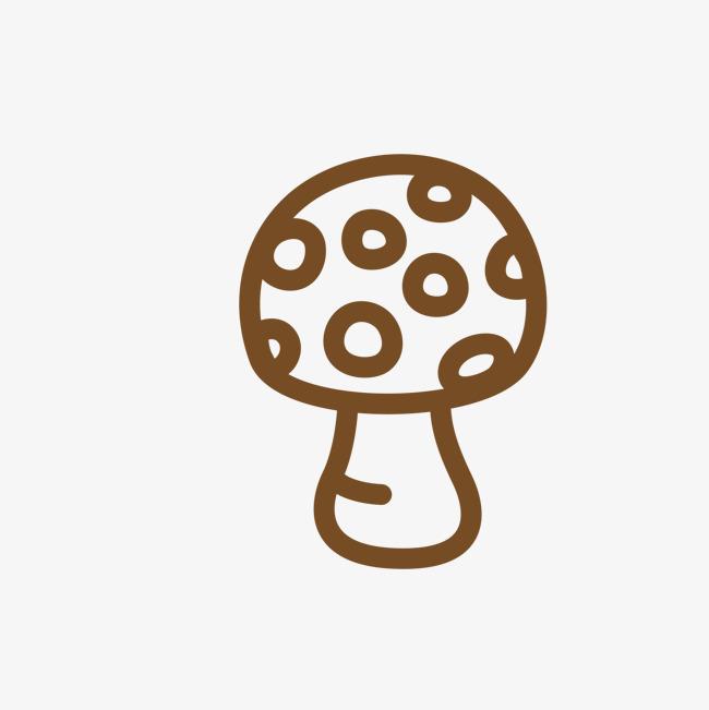 简图小蘑菇_png素材免费下载_ 1500*1500像素(编号:)