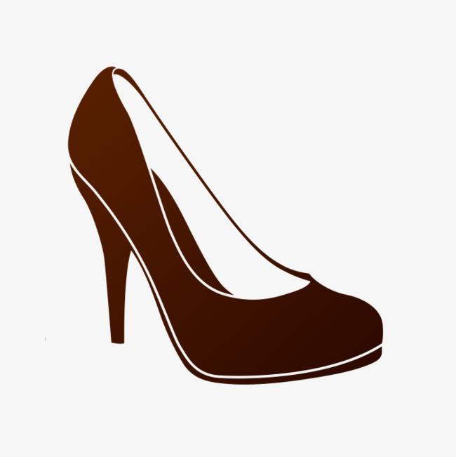 手绘高跟鞋