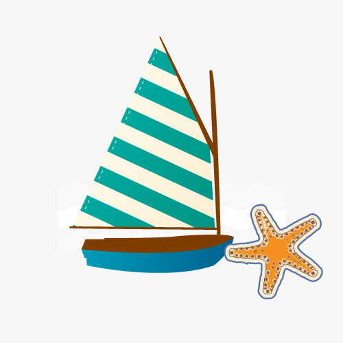 图片 > 【png】 手绘小船