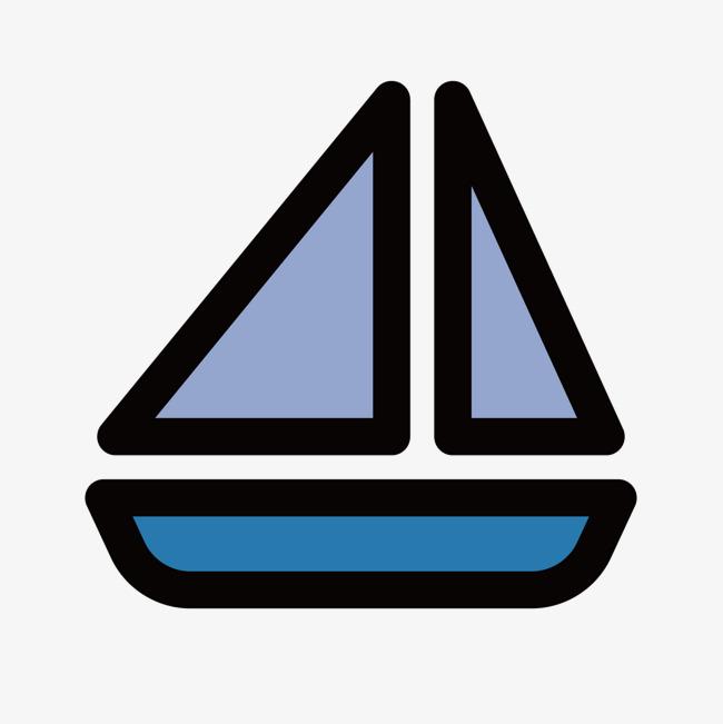 蓝色帆船_png素材免费下载_ 1500*1500像素(编号:)_90