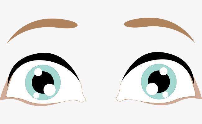 美丽大眼睛矢量图素材图片免费下载 高清psd 千库网 图片编号8990526