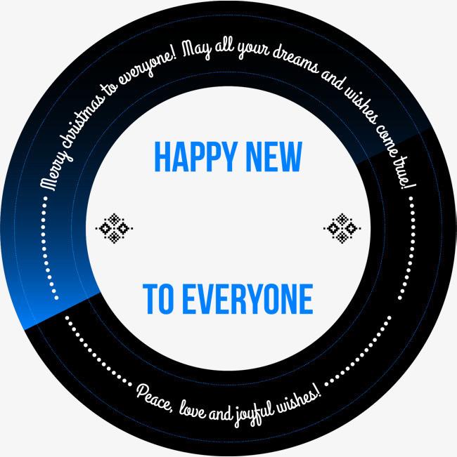 小清新黑色圆圈