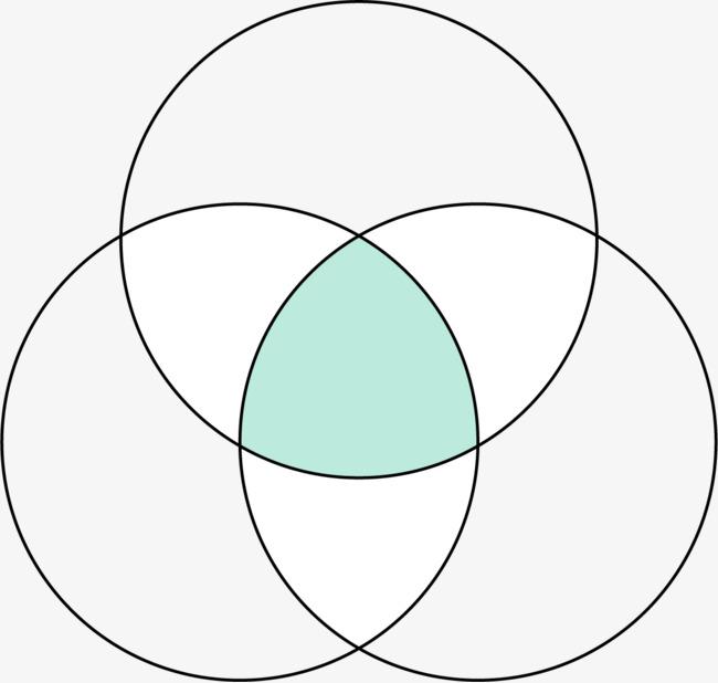 手绘线条圆圈图案