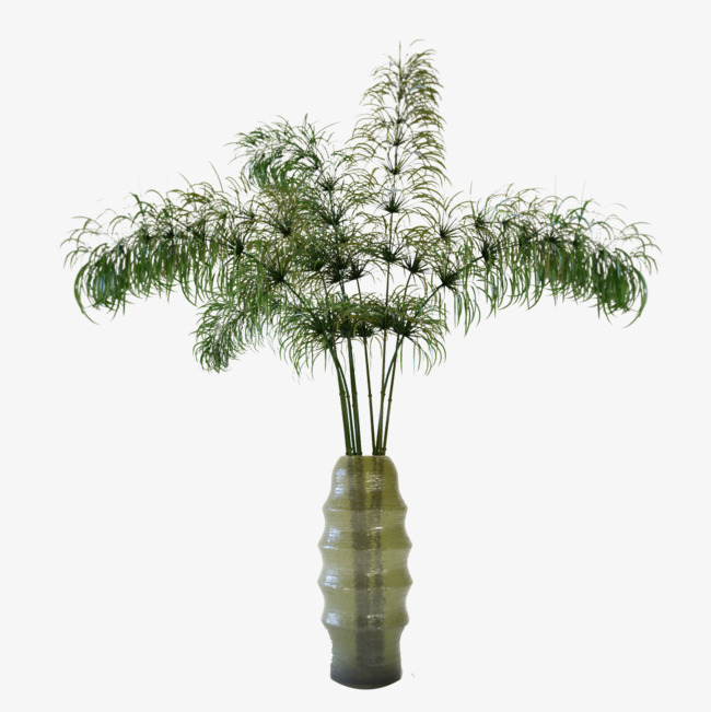 一个绿色透明日式花瓶_png素材免费下载_ 1200*1200