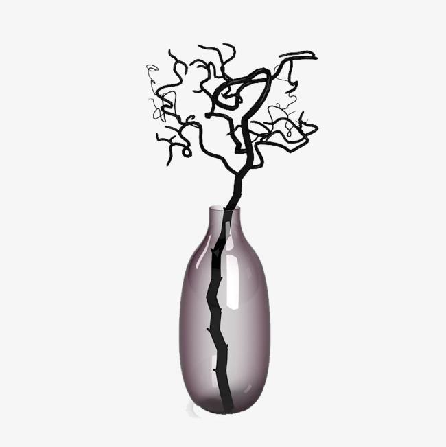 紫色透明日式花瓶_png素材免费下载_ 800*800像素(:)