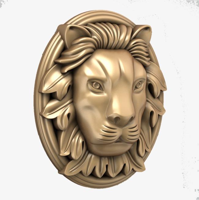 金色狮子头欧式吊顶