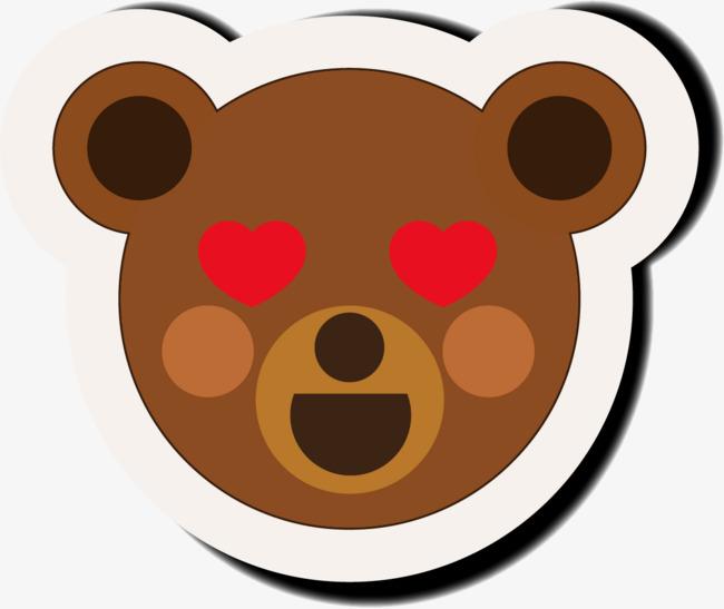 性色眯眯5_小熊色咪咪表情