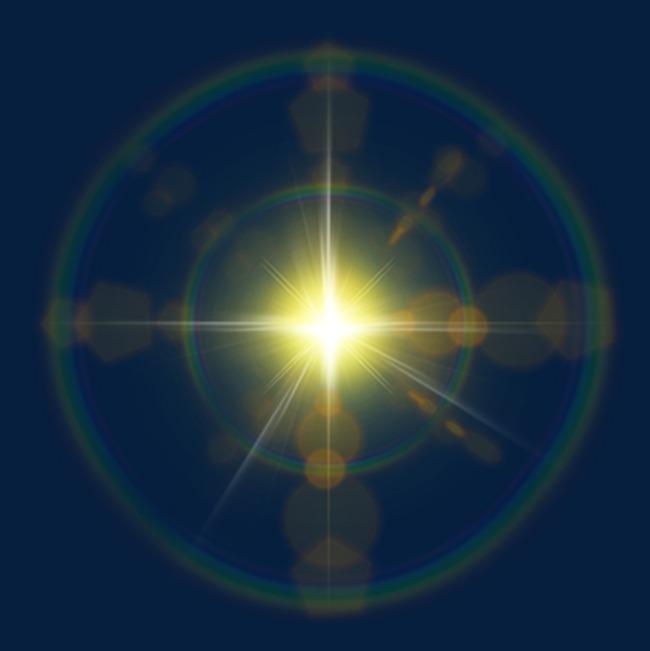 彩色星光光芒免抠pngpng素材下载_高清图片png格式(:)图片