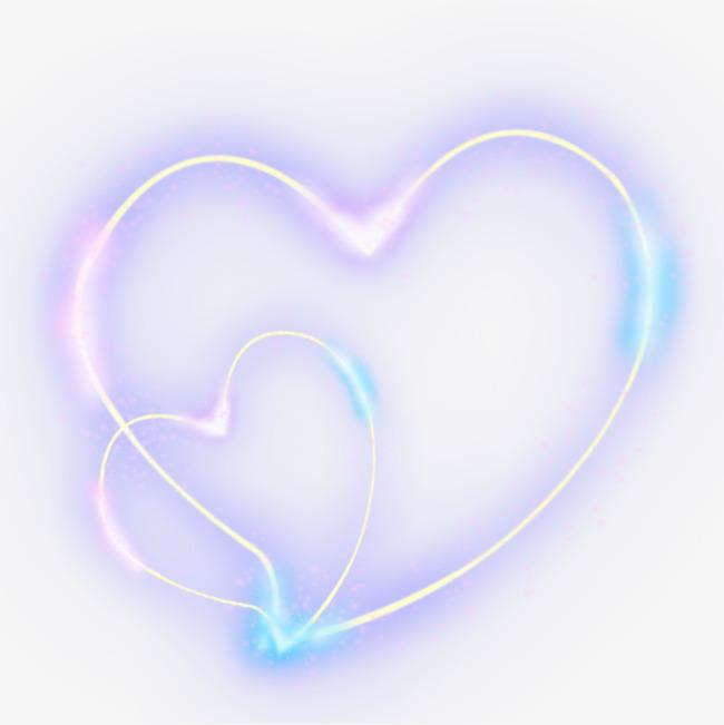 心形发光线圈透明pngpng素材下载_高清图片png格式(:)