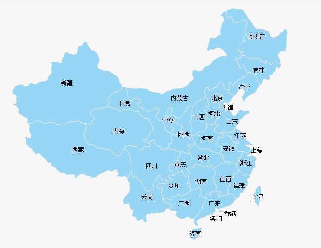 中国_中国地图各省分布图【相关词_ 中国地图省份分布图】