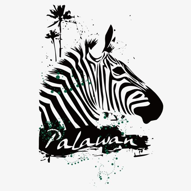 动物斑马印花矢量图素材图片免费下载 高清装饰图案psd 千库网 图片编号2281145