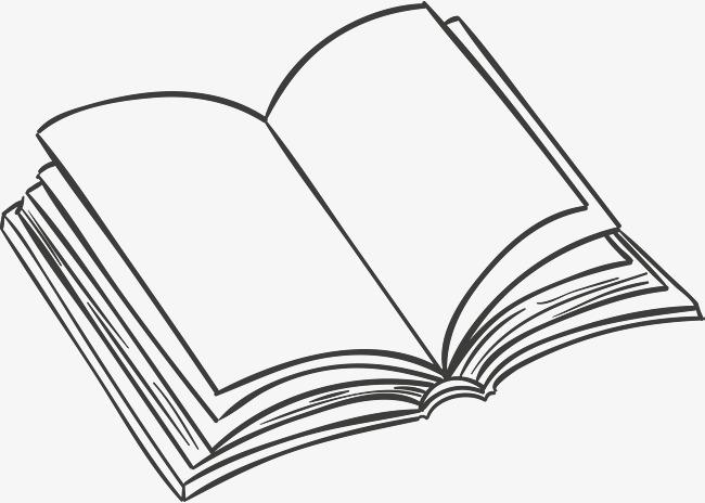 展开的书本图片