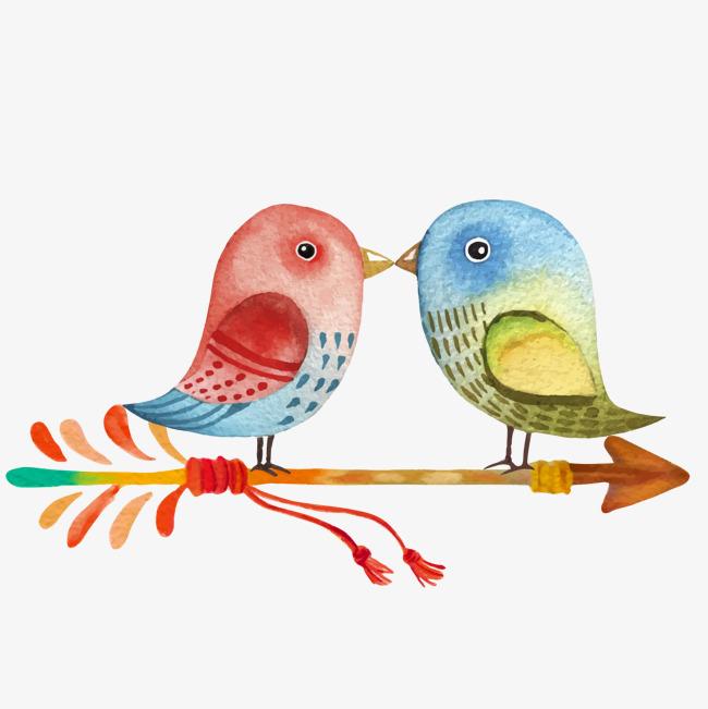 两只爱情鸟