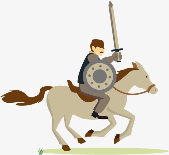 骑士战马图片