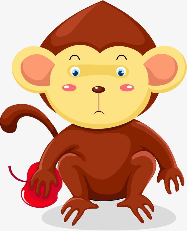 呆萌的可爱猴子