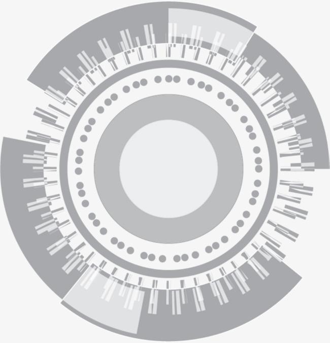 小清新灰色圆圈