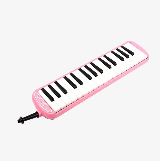 粉色口风琴